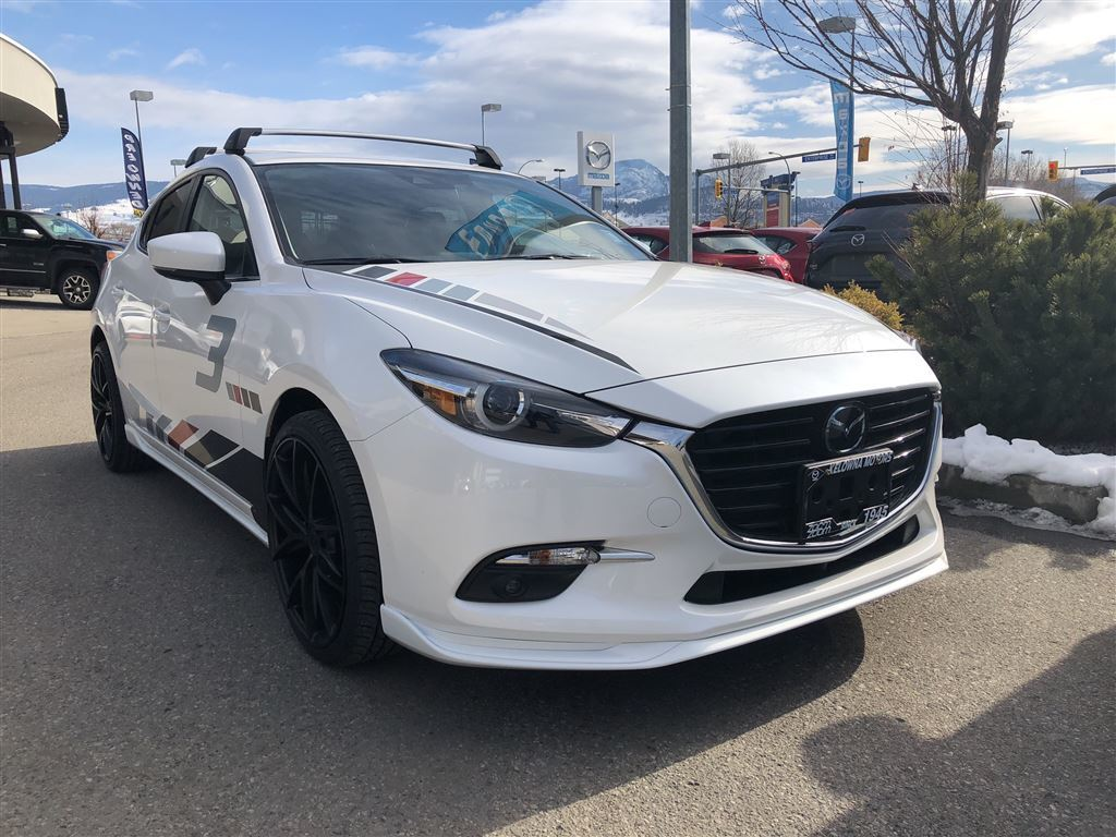 New 2018 Mazda3 Sport GT