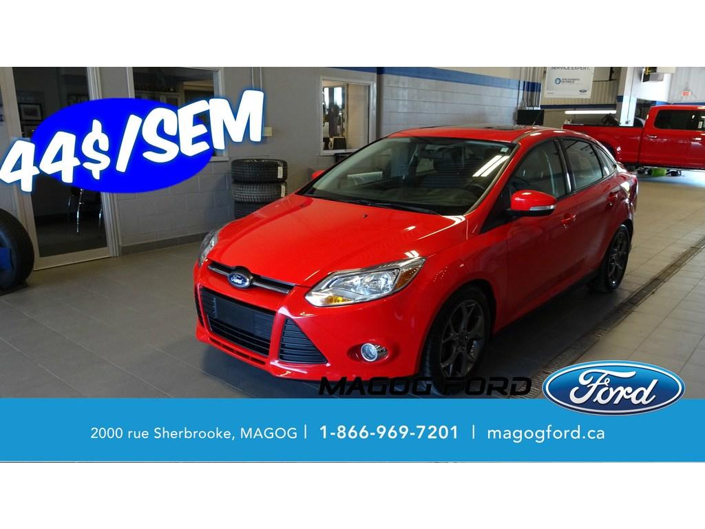 2014 Ford Focus SE CUIR TOIT OUVRANT 1 PROPRIO JAMAIS ACCIDENTE