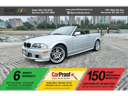 Car 2002 Bmw 3 Series M Sport Package Cabriolet Manual Transmission In