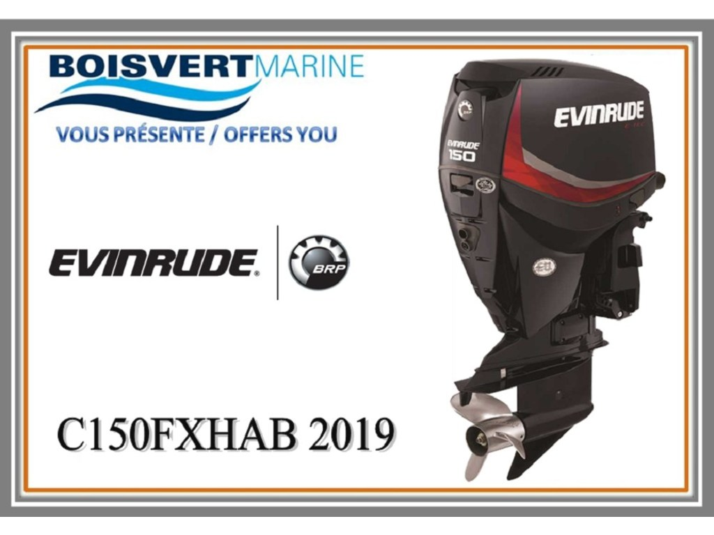 2019 Evinrude boat for sale, model of the boat is C150fxhab & Image # 1 of 1