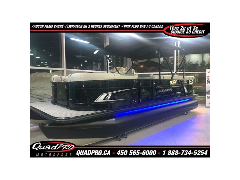2018 Starcraft boat for sale, model of the boat is Ponton Ex 22' 23' C Édition Spéciale Sport & Image # 1 of 6
