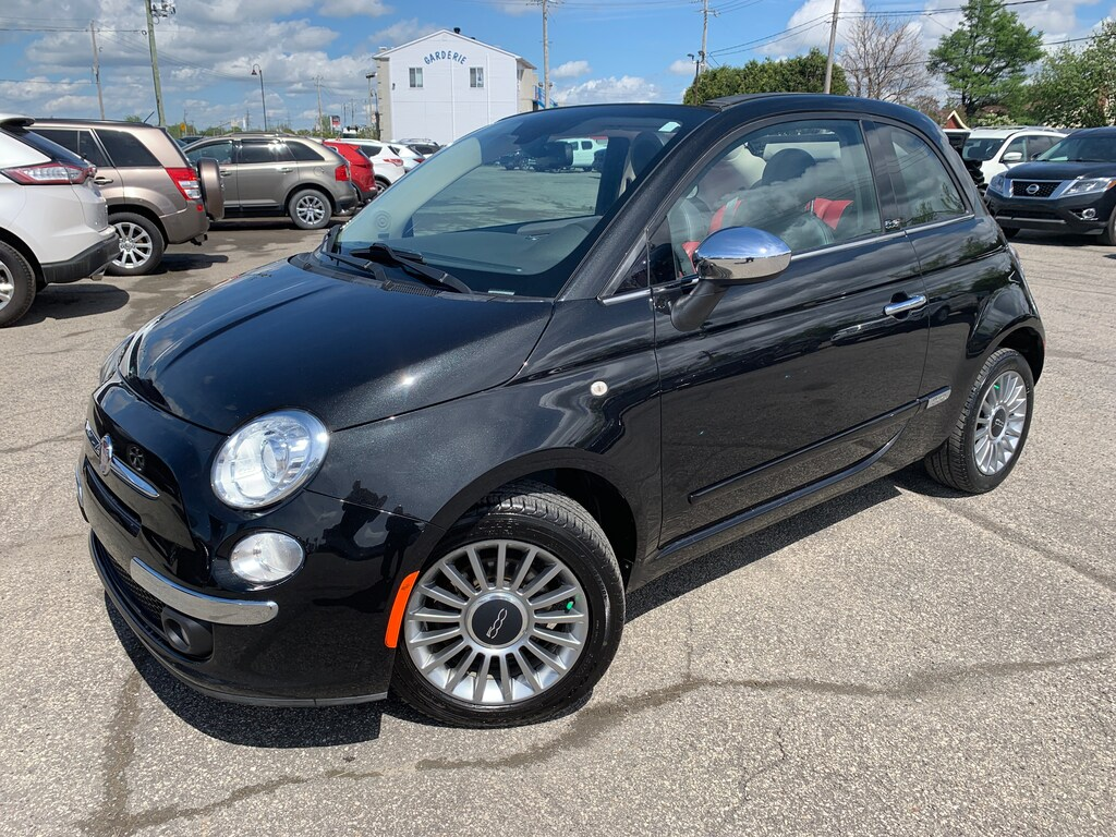 2012 Fiat 500 Lounge Cuir Convertible
