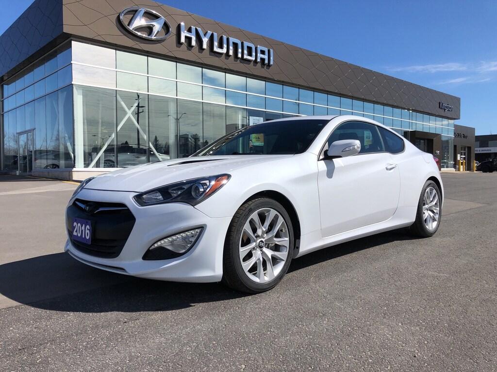 Genesis Coupe 2016 >> 2016 Hyundai Genesis Coupe In Kingston On Kingston Hyundai