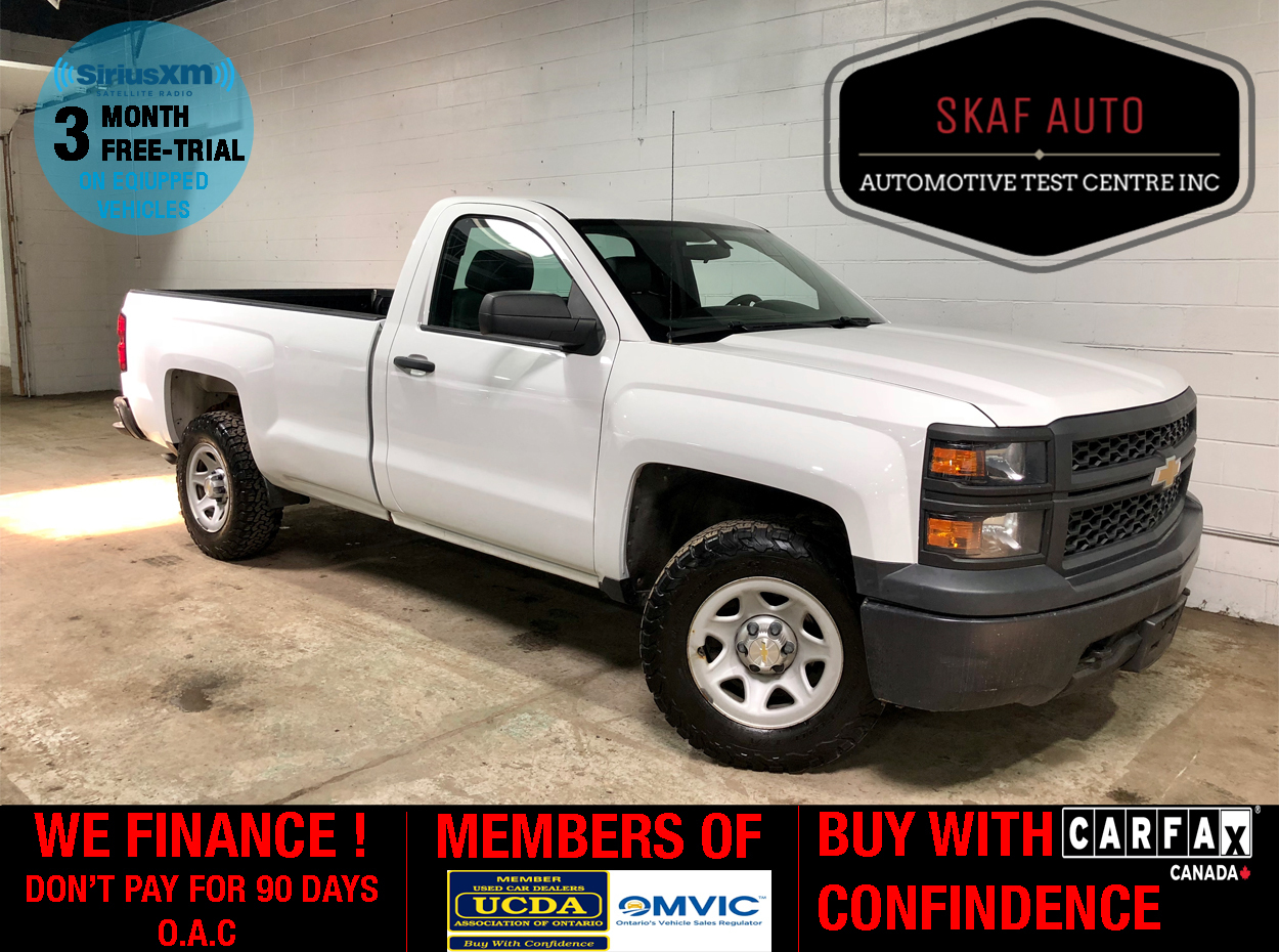 Used Cars For Sale By Private Owner Under 1500 >> 2014 Chevrolet Silverado 1500 8ft Box One Owner 4x4 Clean Carfax We Finance