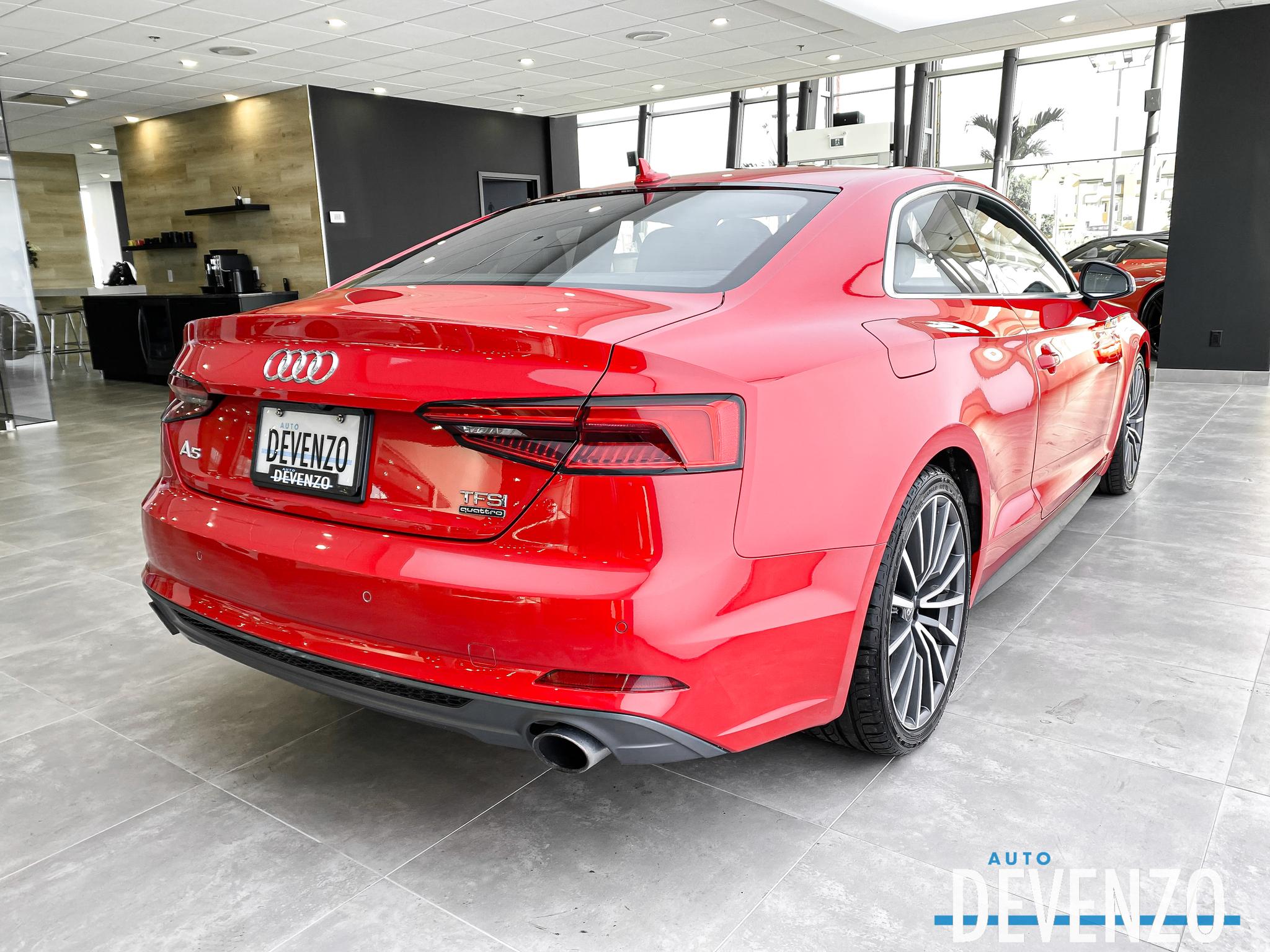 2018 Audi A5 Coupe TFSI QUATTRO PROGRESSIV S-LINE NAVIGATION PANO complet