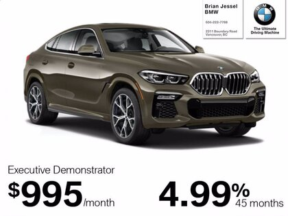 Bmw X6 For Sale In Vancouver Bc Brian Jessel Bmw
