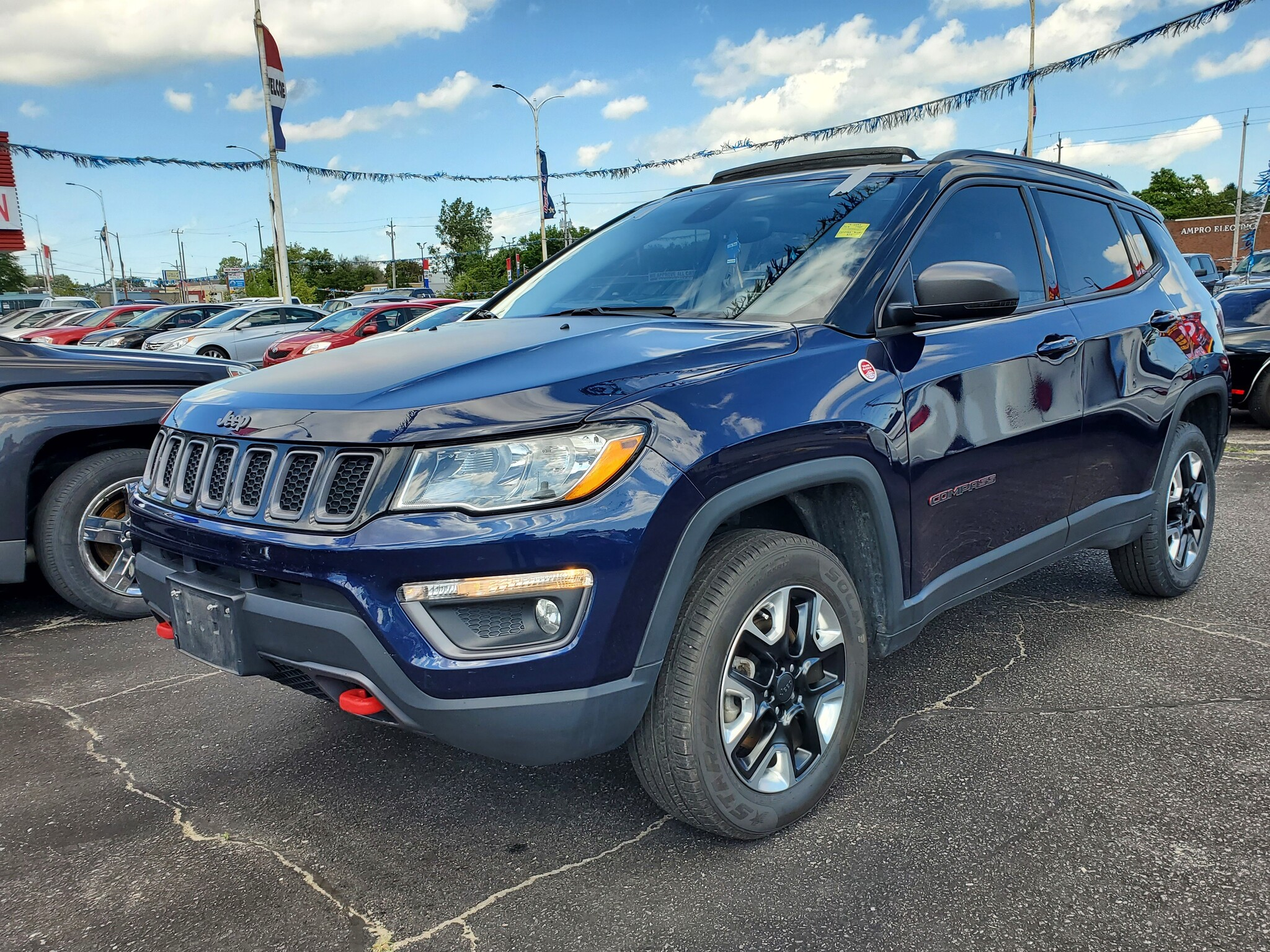 2018 Jeep Compass In London Ontario 5 Star Dealers Inc 3c4njddb5jt303558