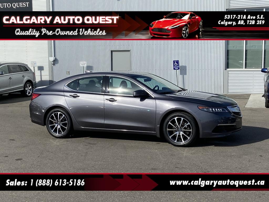 2017 Acura Tlx In Calgary Ab Calgary Auto Quest 19uub3f54ha800209
