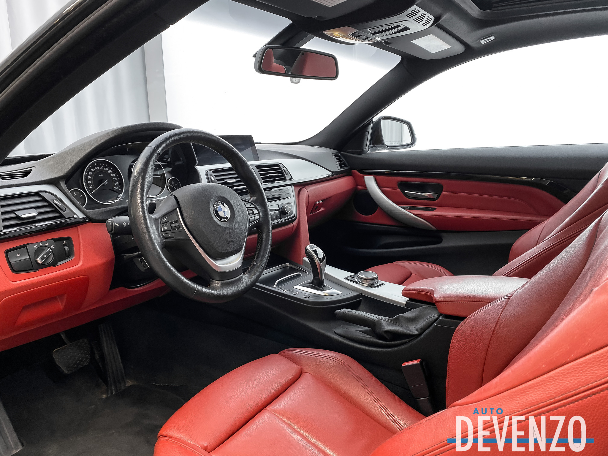 2016 BMW 4 Series COUPE 428i xDrive AWD Cuir ROUGE NAVI / CAMERA complet