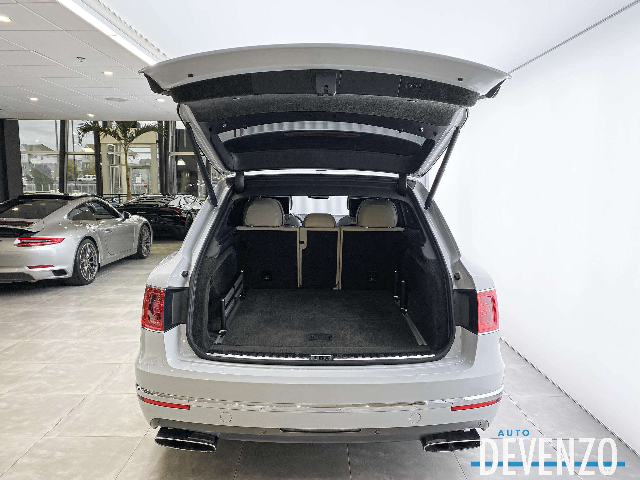 2017 Bentley Bentayga W12 AWD MULLINER DVD SCREENS complet