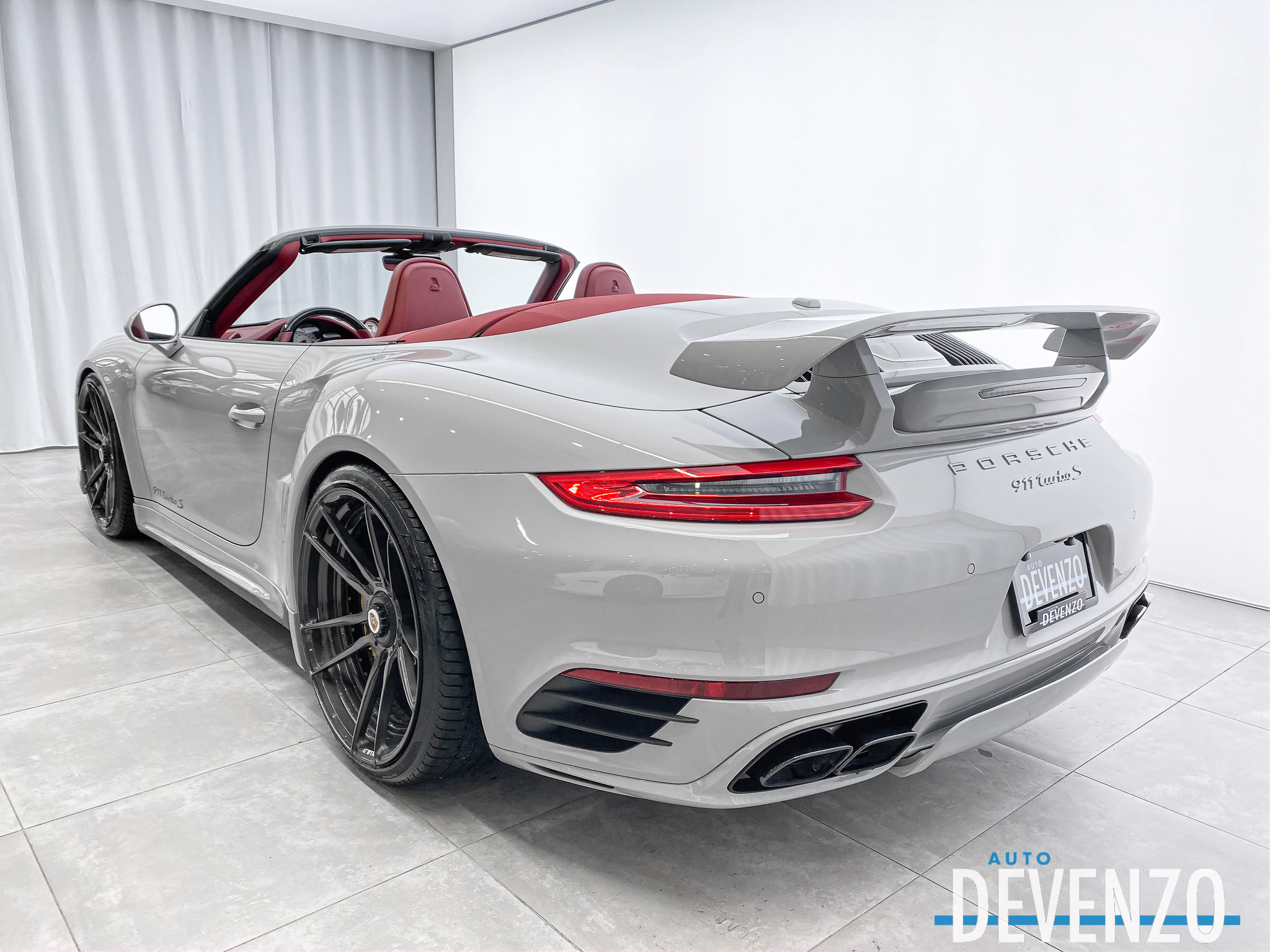 2019 Porsche 911 Turbo S Cabriolet 580HP TECHART DESIGN complet