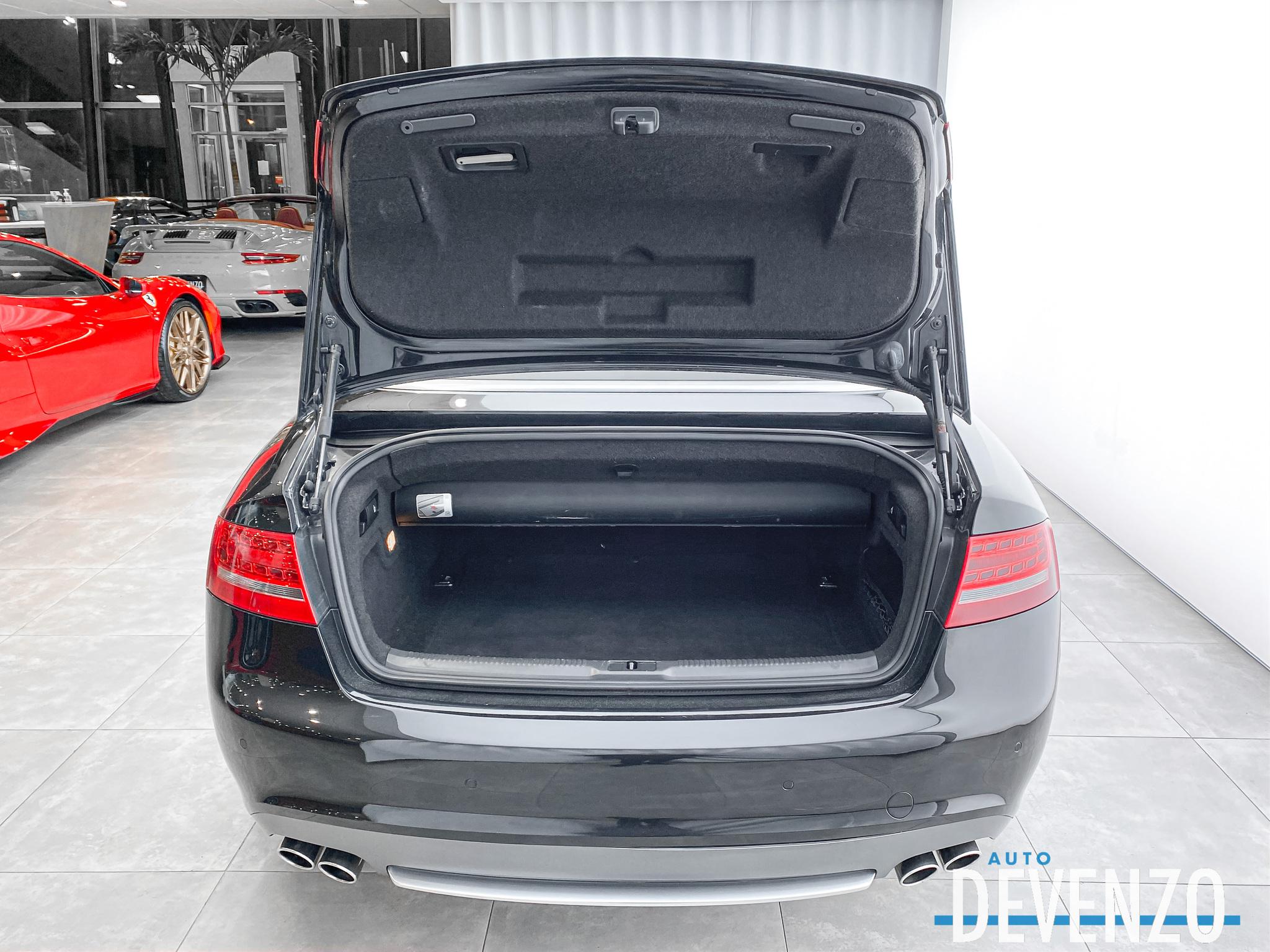 2011 Audi S5 Cabriolet S5 333HP Cabriolet QUATTRO NAVI B&O complet