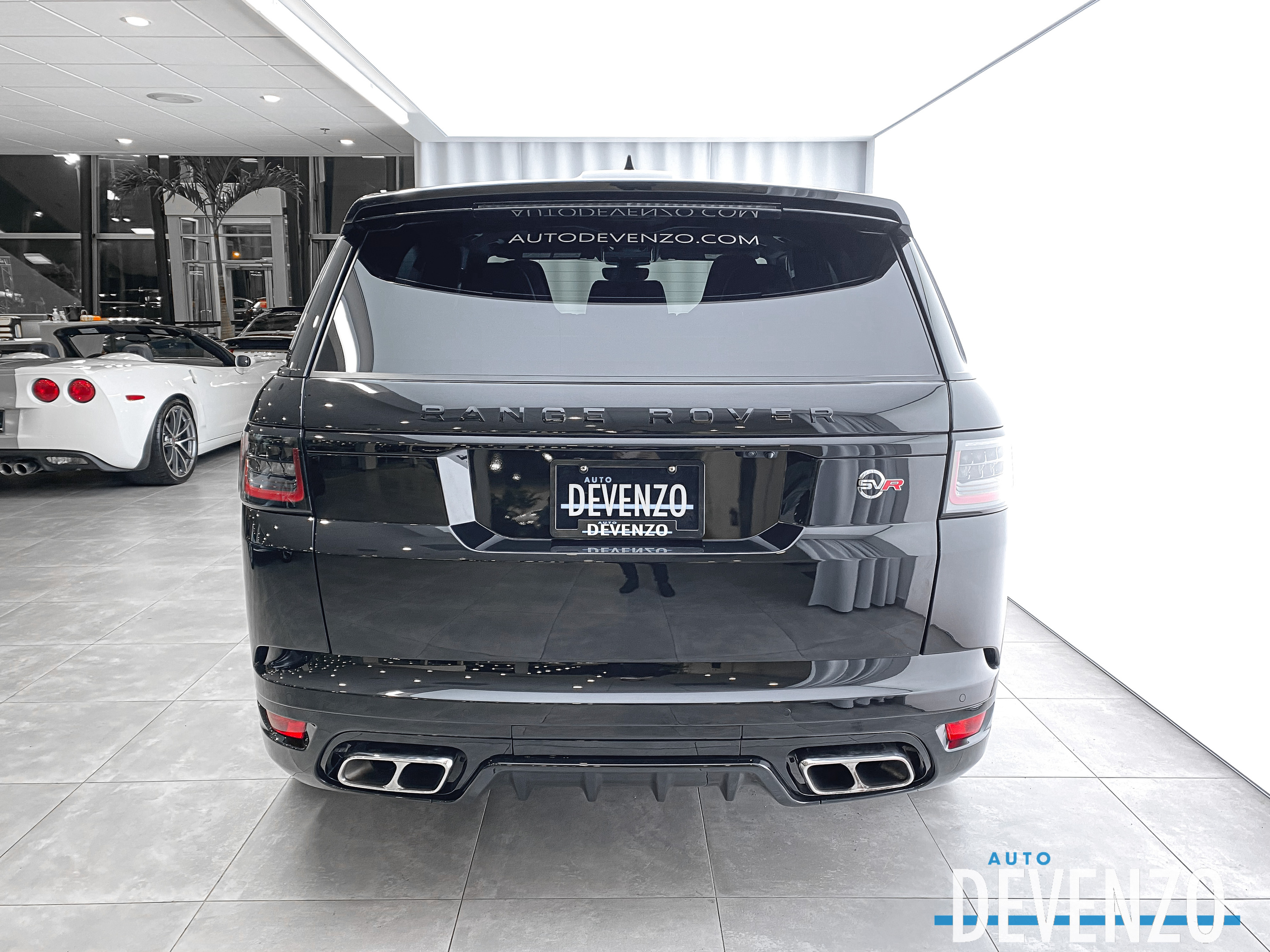 2019 Land Rover Range Rover Sport V8 Supercharged SVR 575hp Adaptive Cruise complet