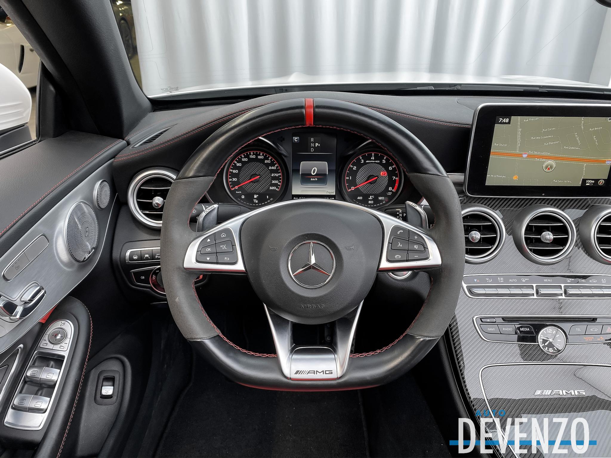 2017 Mercedes-Benz C-Class AMG C63 S Cabriolet V8 BITURBO 503HP complet
