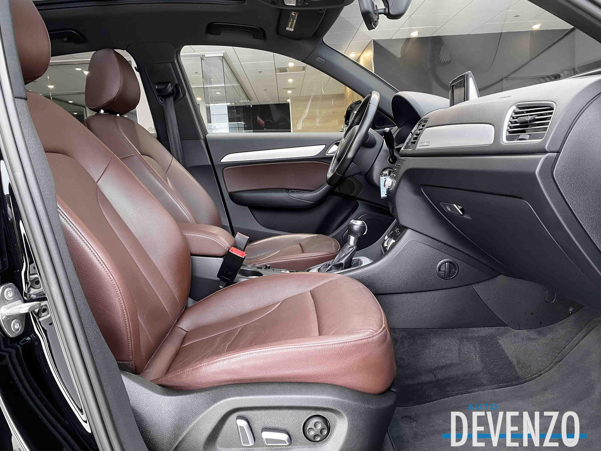 2017 Audi Q3 PREMIUM 2.0T QUATTRO CUIR BRUN / TOIT PANO full