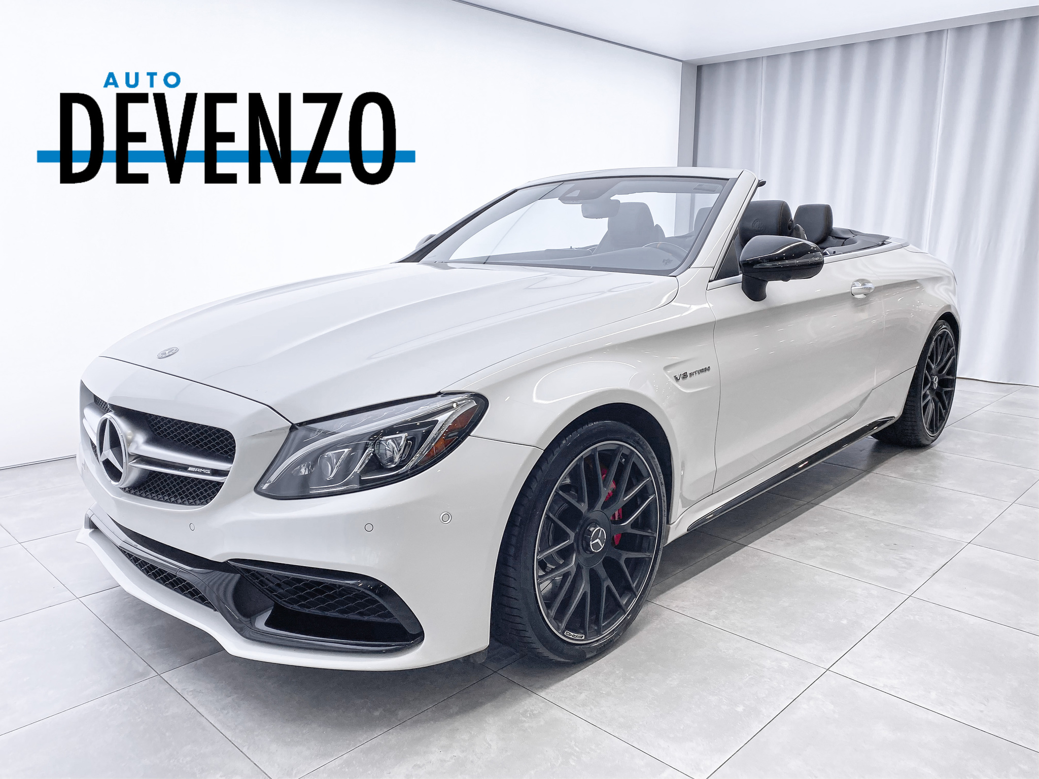 2018 Mercedes-Benz C-Class AMG C63 S Cabriolet 503HP NIGHT PACKAGE AIR SCARF complet