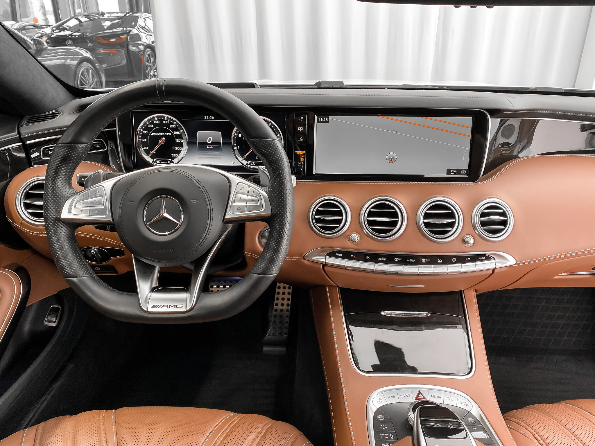 2017 Mercedes-Benz S-Class S63 AMG COUPE 4MATIC 577HP NIGHTVIEW / SWAROVSKI complet