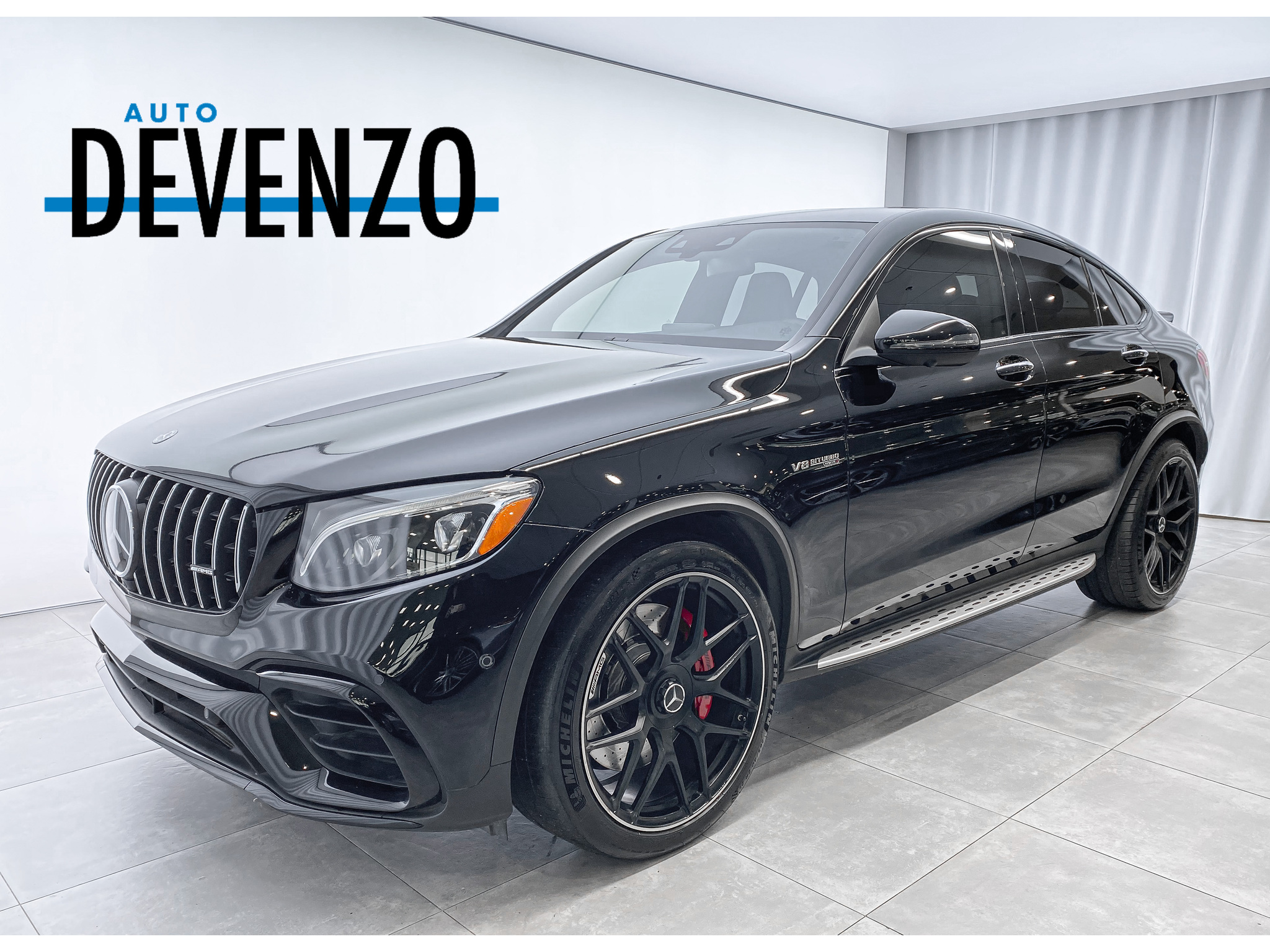 2019 Mercedes-Benz GLC AMG GLC 63 S 4MATIC+ Coupe V8 4.0 BITURBO 503HP complet