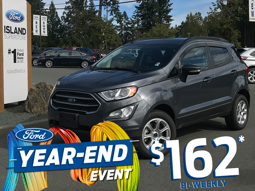 2020 Ford Ecosport In Duncan Bc Island Ford Maj6s3gl3lc363519