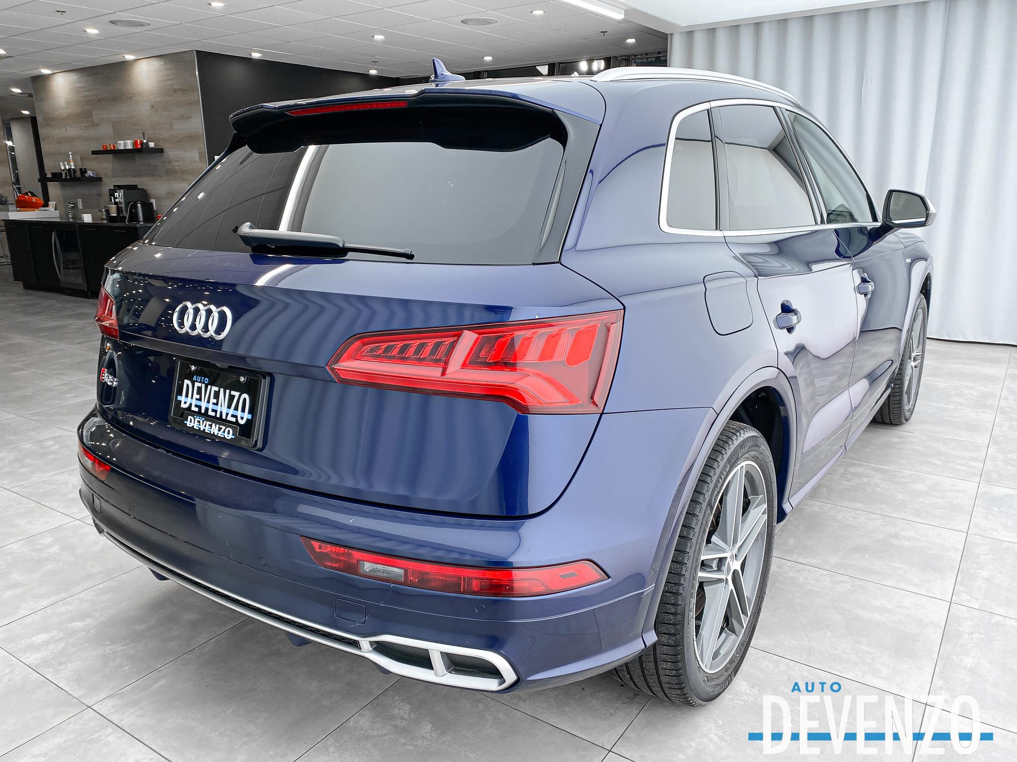 2018 Audi SQ5 3.0 TFSI QUATTRO 354HP TECHNIK BANG & OLUFSEN complet