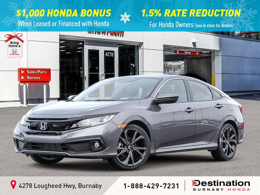 2020 Honda Civic Sedan In Burnaby Bc Destination Honda Burnaby 2hgfc2f85lh011197