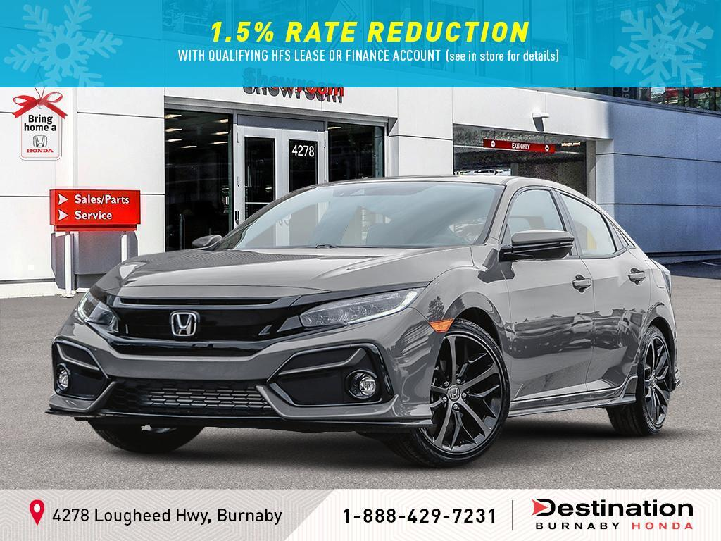 2020 Honda Civic Hatchback In Burnaby Bc Destination Auto Group Shhfk7h47lu302913