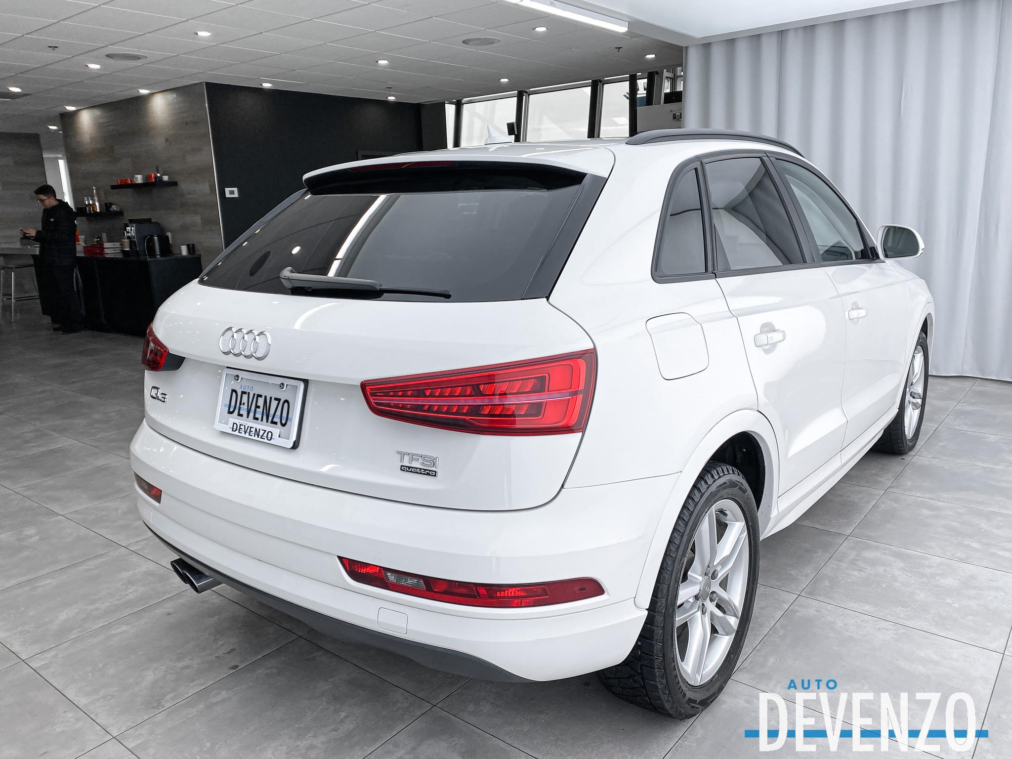 2017 Audi Q3 QUATTRO 2.0T Komfort Toit Panoramique / Camera full