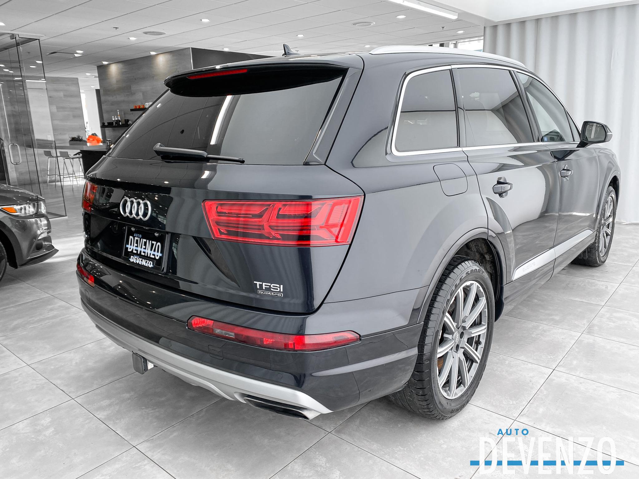 2017 Audi Q7 Quattro 3.0T Progressiv Navi / Toit Pano / Camera complet