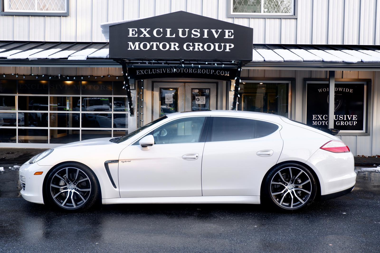 2012 Porsche Panamera In Surrey Bc Exclusive Motor Group Wp0ad2a74cl045073