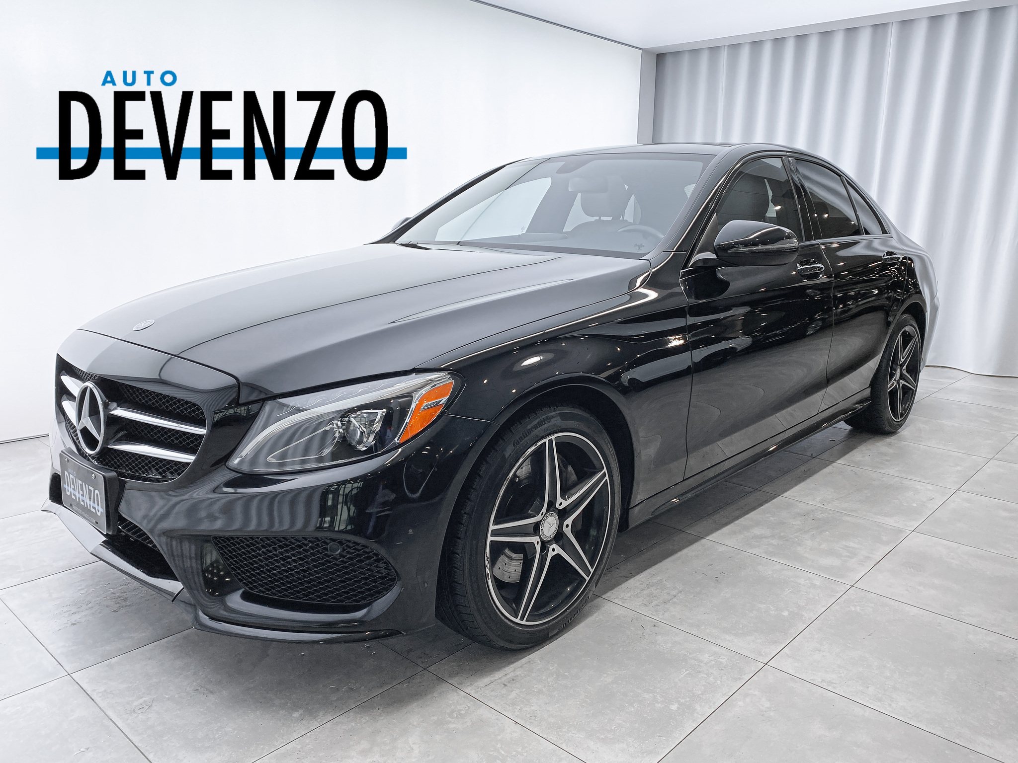 2017 Mercedes-Benz C-Class C300 4MATIC AMG NIGHT PACKAGE PREMIUM complet