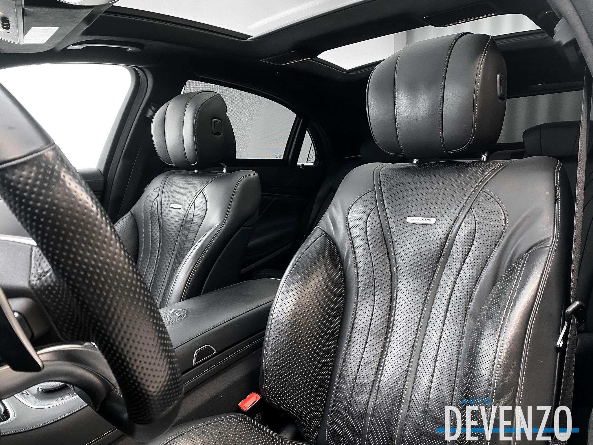 2017 Mercedes-Benz S-Class AMG S63 4MATIC DESIGNO MATT / NIGHT PACKAGE complet