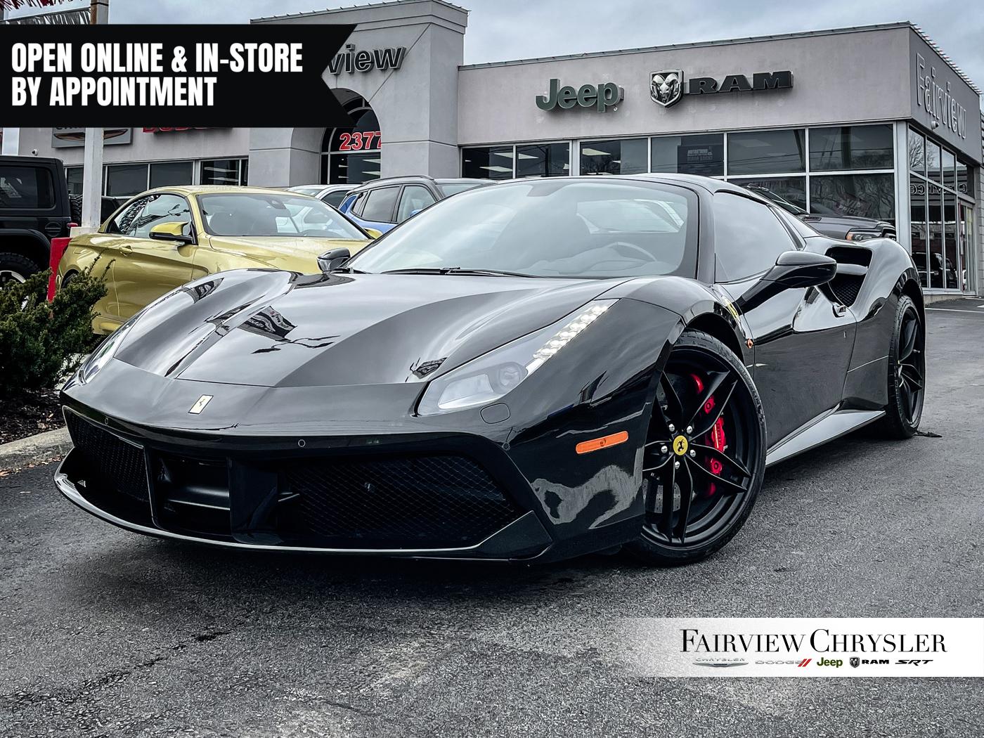 2018 Ferrari 488 Spider F1 Wheel Carbon Fibre 50075880 Burlington On Used Zff80ama5j0236643 U18196 Zff80ama5j0236643
