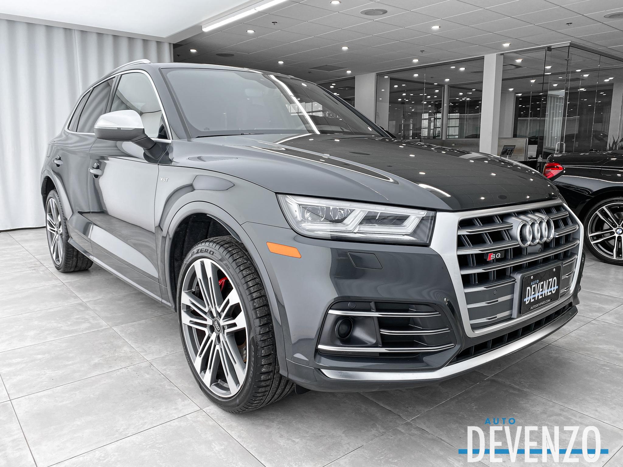 2018 Audi SQ5 3.0 TFSI QUATTRO TECHNIK CRUISE ADAPTIF / CARBON complet