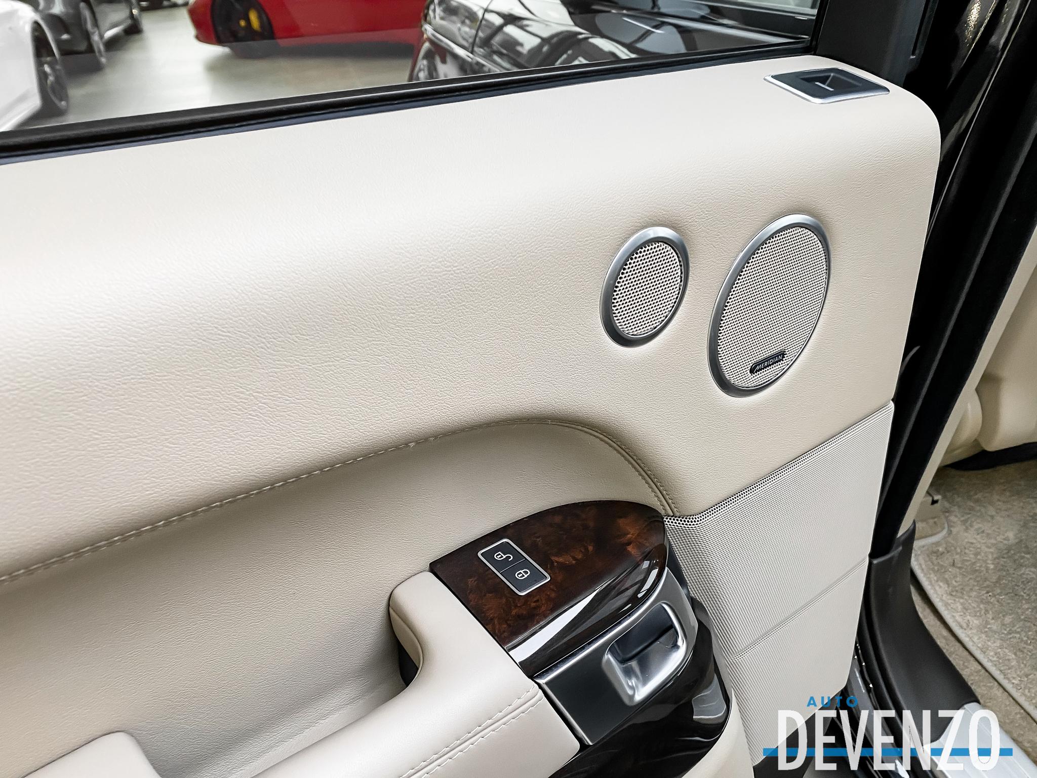 2017 Land Rover Range Rover 4WD Td6 HSE Diesel 3.0L Int. Beige complet