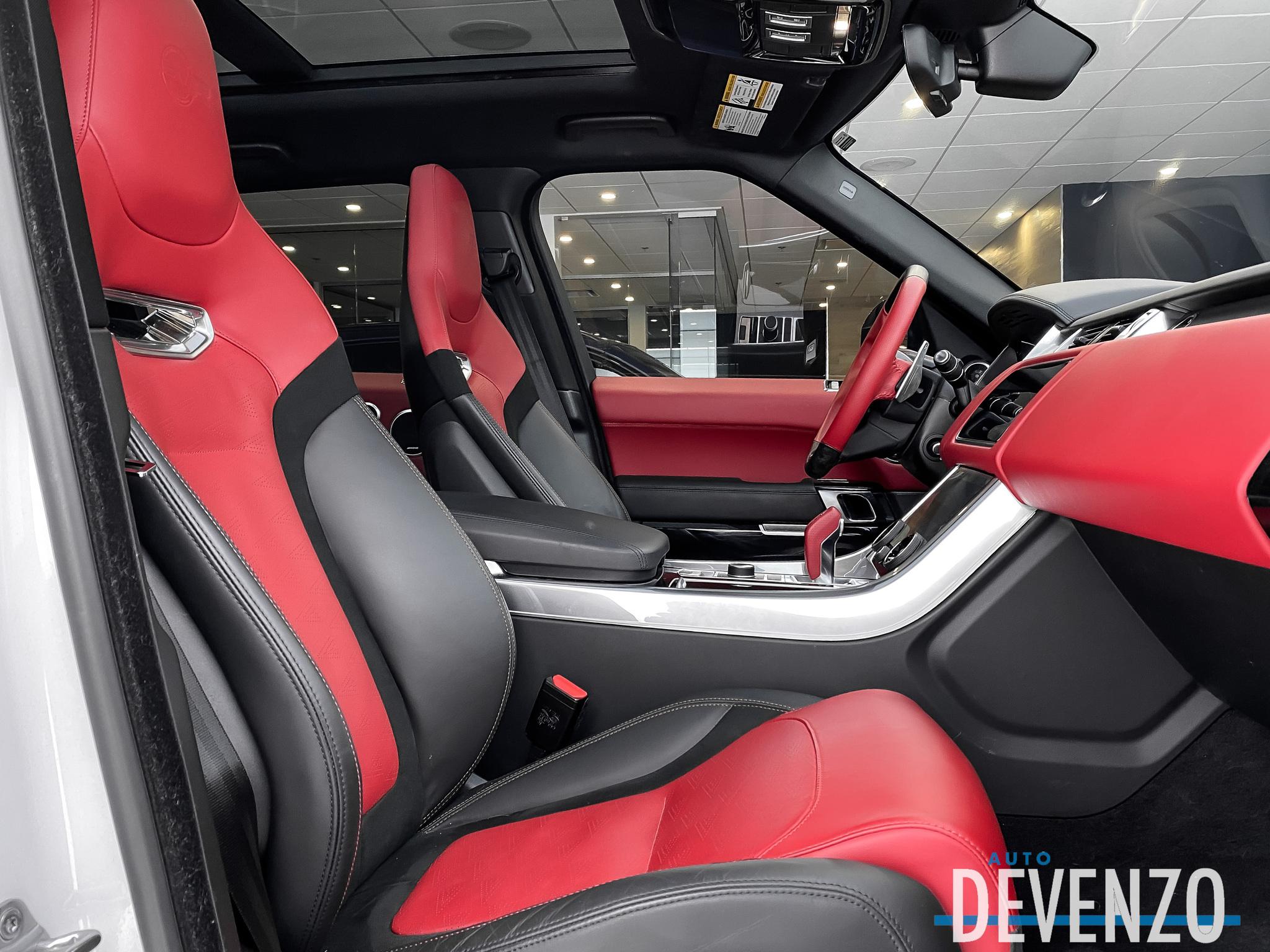 2019 Land Rover Range Rover Sport V8 Supercharged SVR 575HP Drive Pro Pack complet