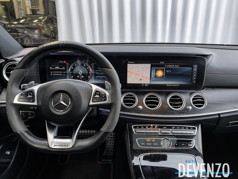 2018 Mercedes-Benz E-Class AMG E43 4MATIC Sedan complet