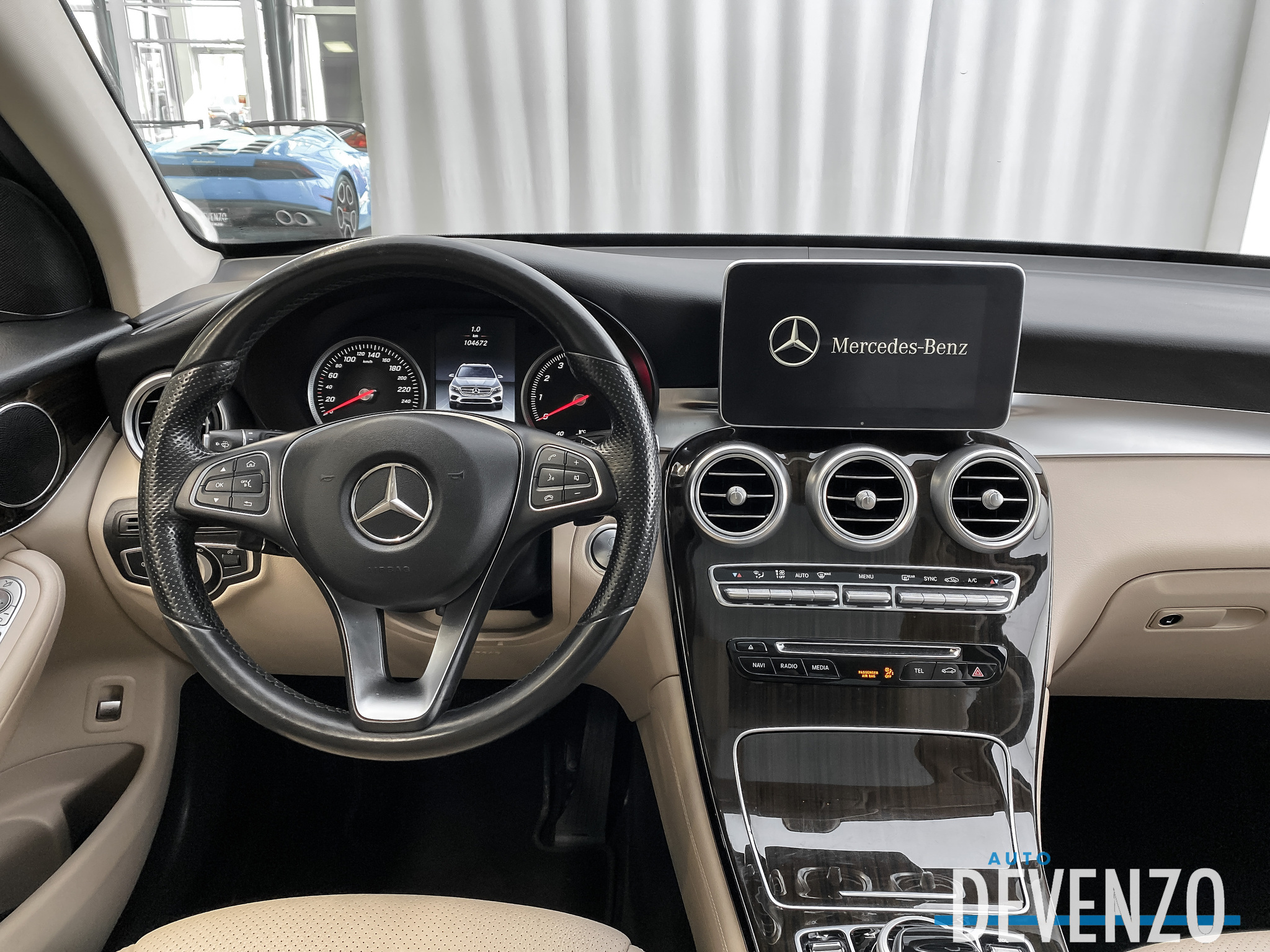 2016 Mercedes-Benz GLC 4MATIC GLC300 TOIT PANO / NAVI / CAMERA complet