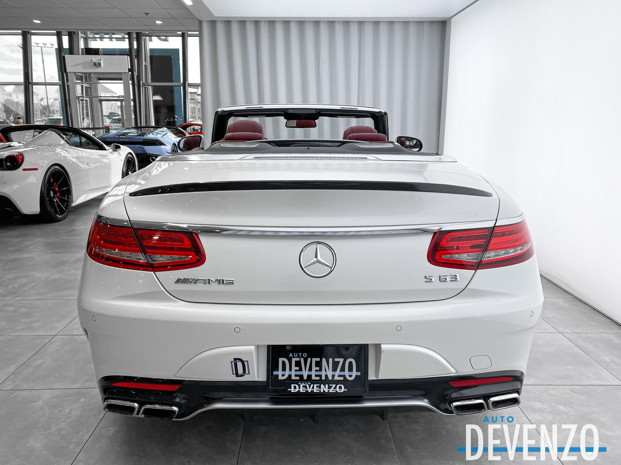 2017 Mercedes-Benz S-Class Cabriolet AMG S63 4MATIC Intelligent Drive complet