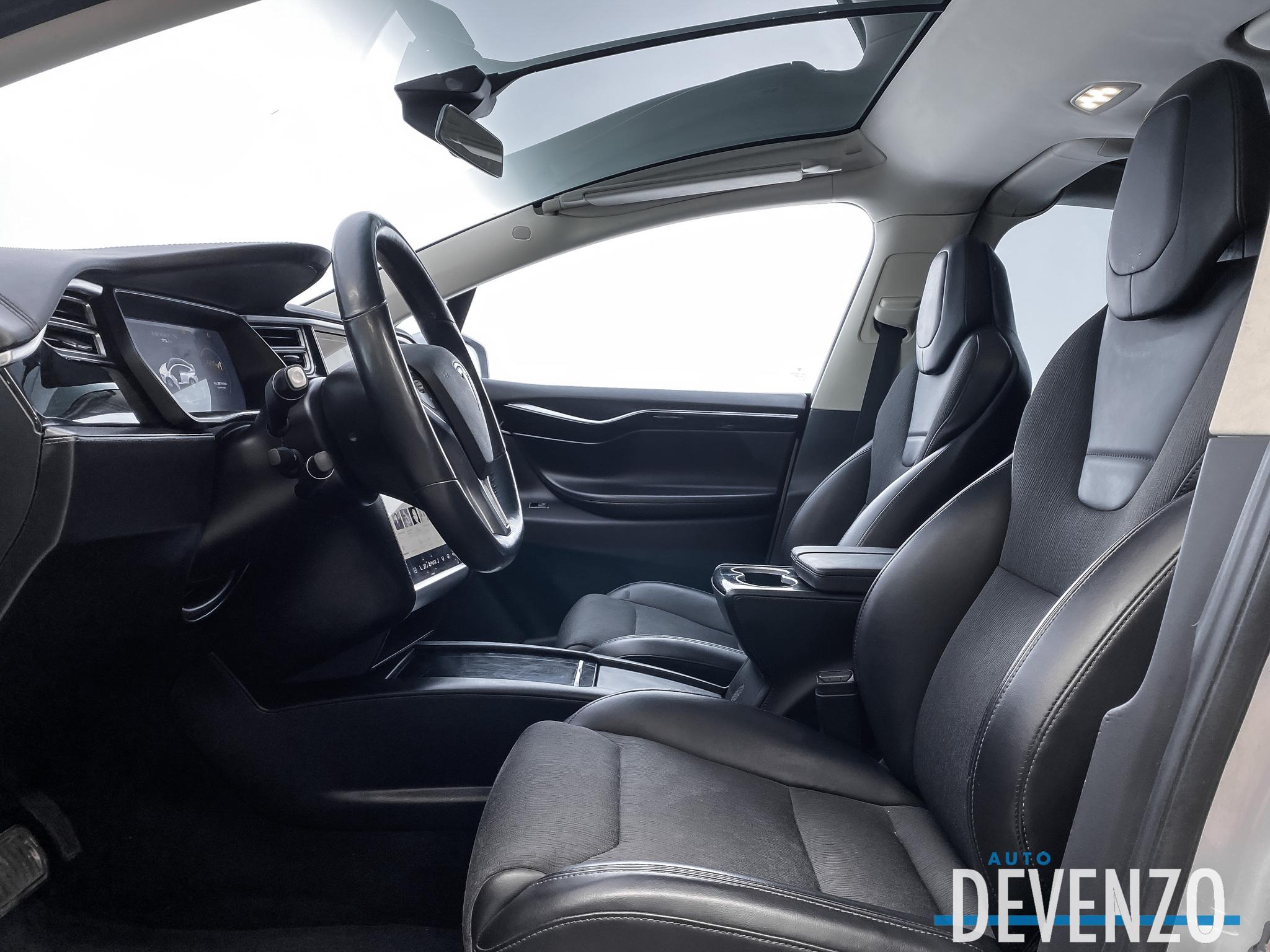 2016 Tesla Model X 75D AWD 7 PASSENGER / AUTOPILOT / SUBZERO PACKAGE complet