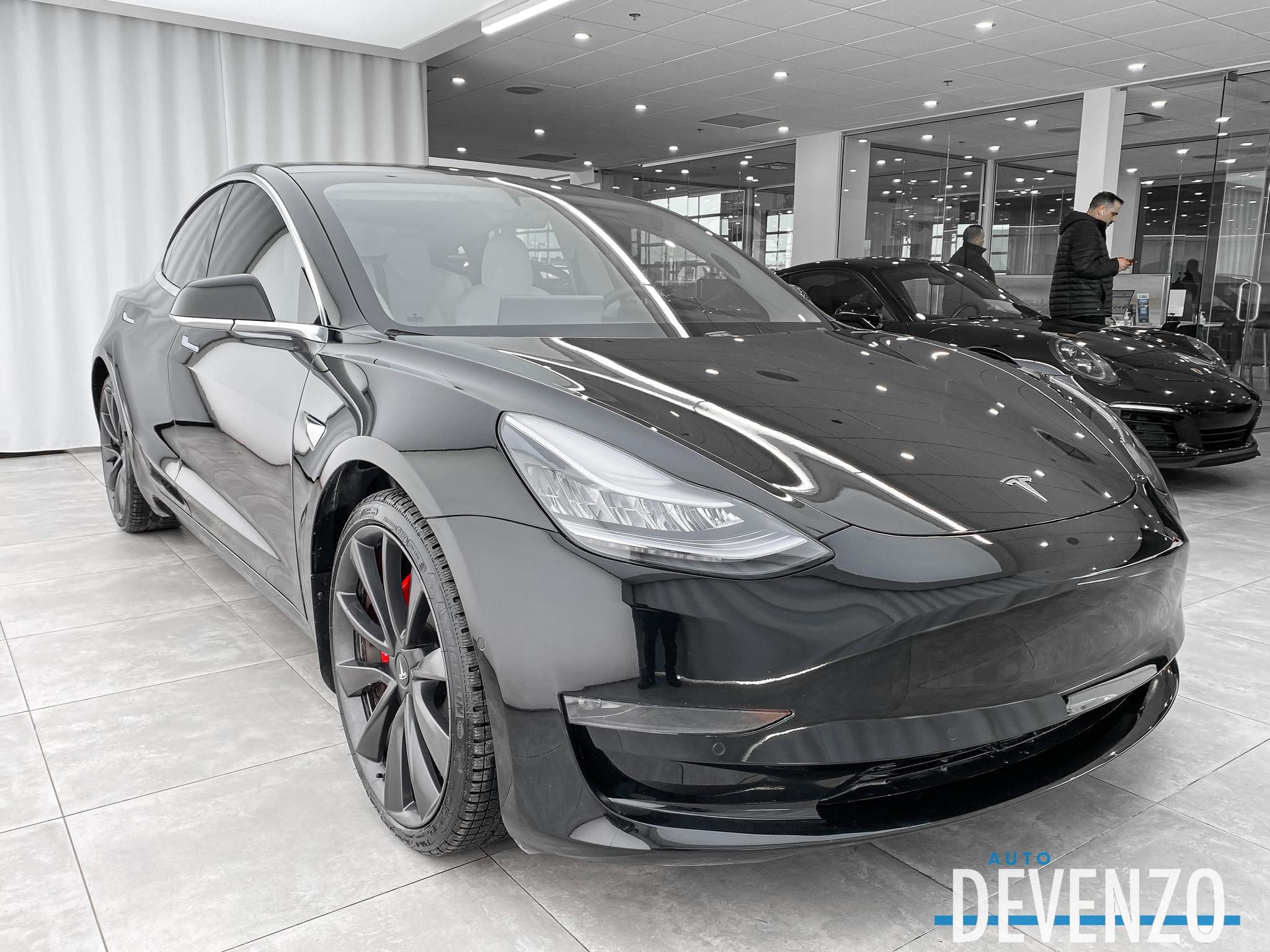 2020 Tesla Model 3 DUAL MOTORS LONG RANGE AWD PERFORMANCE complet
