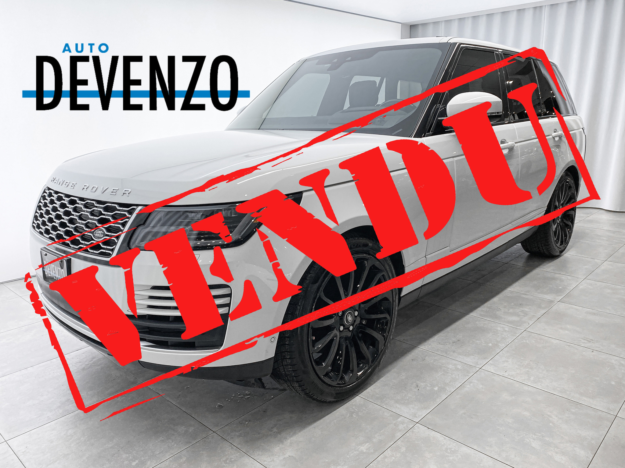 2019 Land Rover Range Rover V8 Supercharged SWB DRIVE PRO PACK / 22»s complet