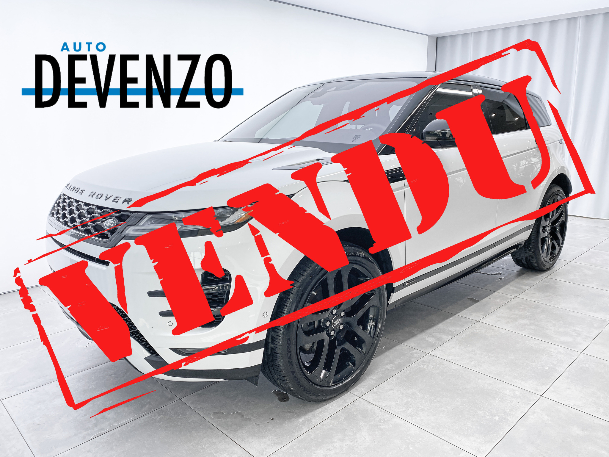 2020 Land Rover Range Rover Evoque P300 R-Dynamic HSE BLACK PACKAGE complet
