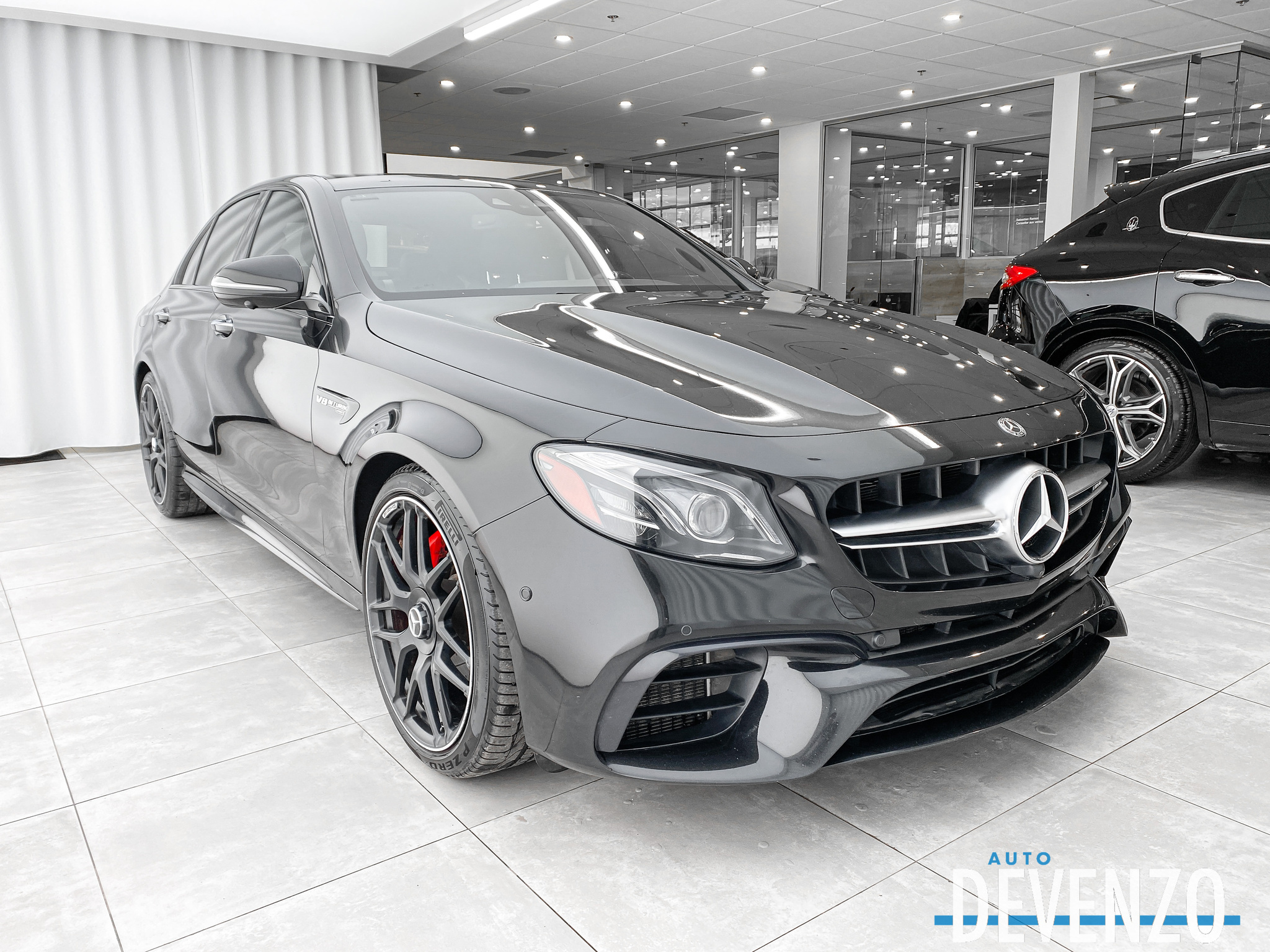 2018 Mercedes-Benz E-Class AMG E63 S 4MATIC NIGHT / CARBON FIBER PACK complet