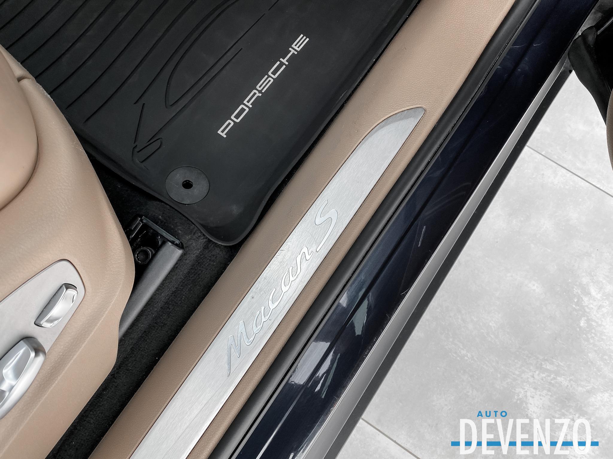 2018 Porsche Macan S AWD 340HP Premium Plus / Garantie 04/2022 complet