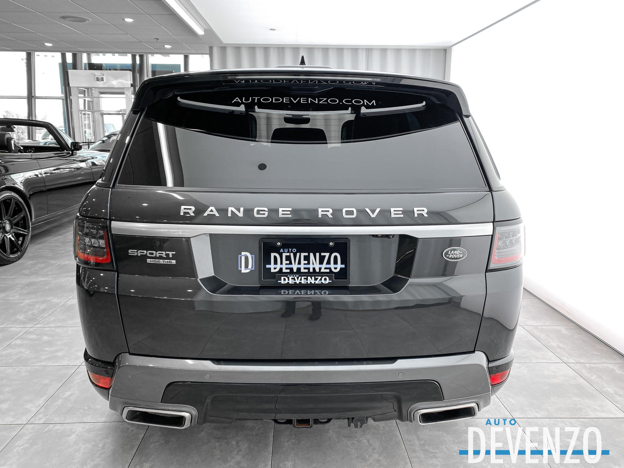 2018 Land Rover Range Rover Sport Td6 Diesel HSE Drive Pack / Vision Assist complet