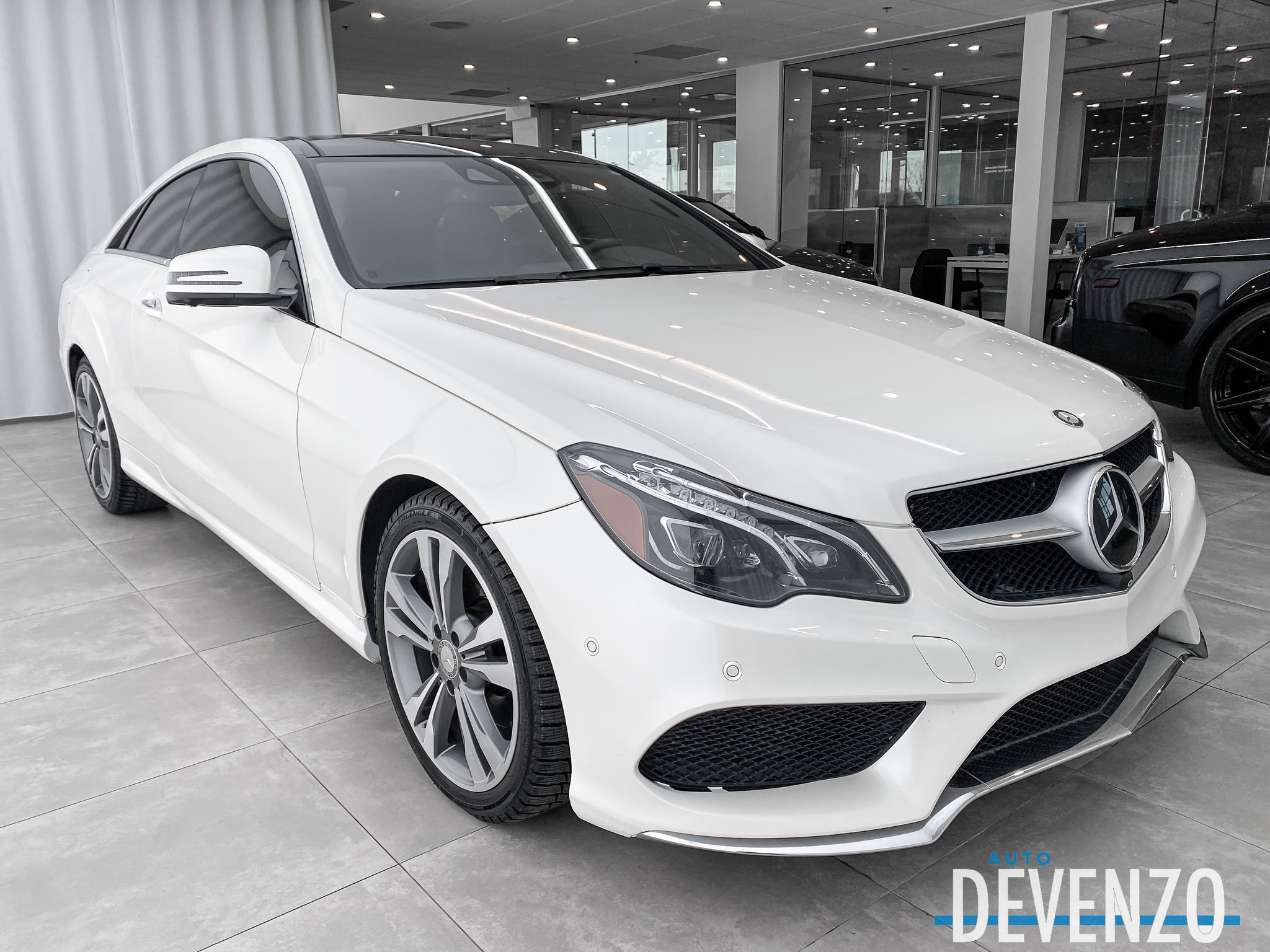 2015 Mercedes-Benz E-Class E400 COUPE 4MATIC DISTRONIC / NAVI / CAMERA 360 complet
