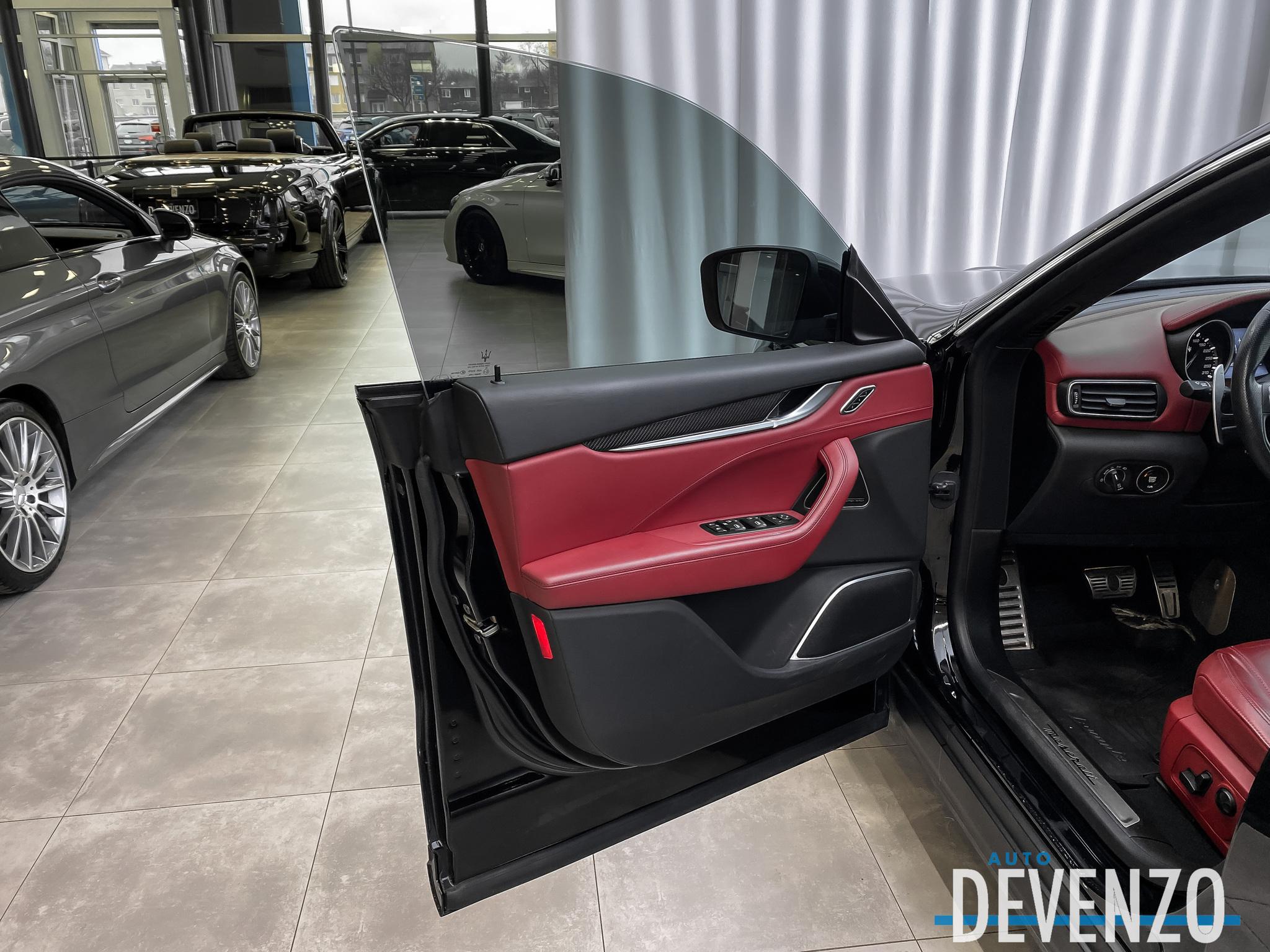 2018 Maserati Levante S GranSport 3.0L AWD 430HP Carbon Fiber / 21»' complet