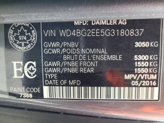 2016 Mercedes-Benz Metris Passenger Van RWD 126 GPS Navigation / Climatisation Arriere complet