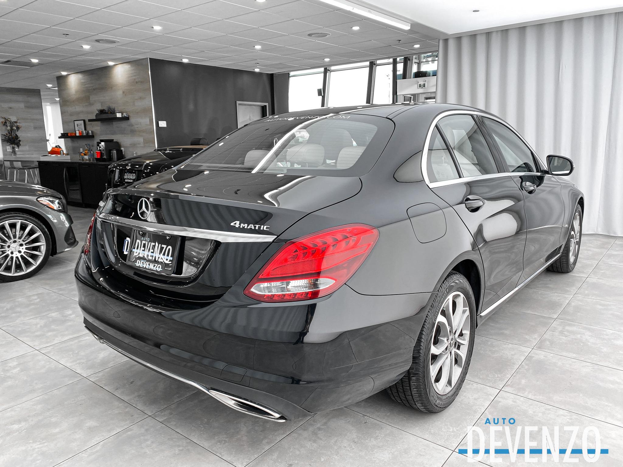 2017 Mercedes-Benz C-Class C300 4MATIC TOIT PANO / GPS NAVI / CAMERA complet