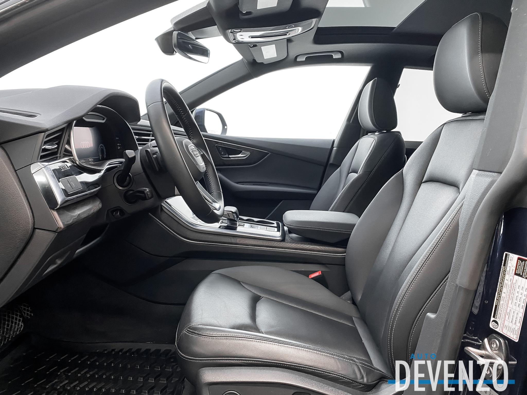 2019 Audi Q8 Progressiv 55 TFSI QUATTRO S-LINE BLACK OPTICS complet
